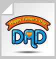 fathers day icons 15 vector image