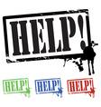 help vector image vector image