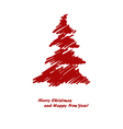 red spruce vector image vector image