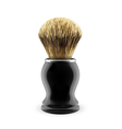 Shaving brush vector image