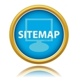 Sitemap button vector image vector image
