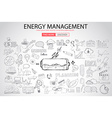 Sketch Concept EnergyManagement vector image
