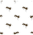 Ant Isolated on White Background vector image