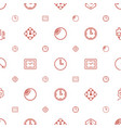 counter icons pattern seamless white background vector image vector image