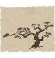 Japanese landscape silhouette vector | Price: 1 Credit (USD $1)