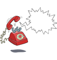 phone call vector image vector image
