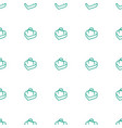 ring in box icon pattern seamless white background vector image vector image