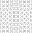 seamless pattern of circuit cut vector image vector image