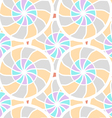 Abstract seamless pattern with mosaic elements vector image
