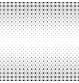 black and white circle pattern - abstract vector image vector image