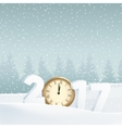 Happy new year 2017 greeting card invitation vector image vector image