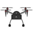 isolated drone toy icon vector image