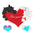 love red vector image vector image