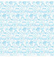 seamless pattern with icons virtual reality vector image vector image
