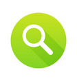 search icon for web site or mobile app magnifier vector image