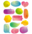 Set of special labels and bubble vector image