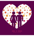 abstract colorful stripes and shapes couple vector image vector image