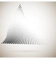 Abstract halftone dots vector image vector image