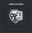 car warranty icon vector image vector image