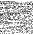 hand drawn doodle lines seamless pattern vector image vector image
