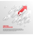 Overlapping Arrows Concept vector image vector image