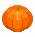 pumpkin thanksgiving icon isometric style vector image vector image