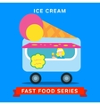 sale fast food vector image vector image