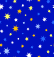 Texture of stars vector image vector image