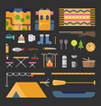 Travel and Tourism Tourists Appliances and Stuff vector image