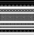 lace patterns vector image