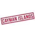 Cayman Islands rubber stamp vector image vector image