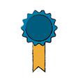 drawing premium certificate medal award vector image vector image