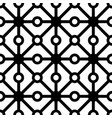 polkadot with line seamless pattern vector image