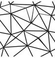 Polygonal seamless pattern vector image vector image