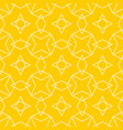 tile yellow and white pattern vector image