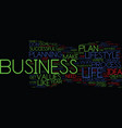 your business or your life why not both text