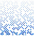 abstract dot pattern background - with small vector image vector image