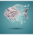 Abstract Sea Fish vector image vector image