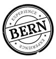 Bern rubber stamp vector image