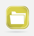 folder for documents Color square icon vector image