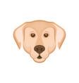 labrador retriever logotype vector image