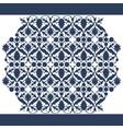 laser cut floral arabesque ornament pattern vector image vector image
