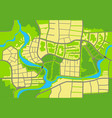 map city a seamless background vector image