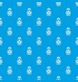 matryoshka pattern seamless blue vector image vector image