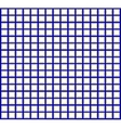 A pattern of blue and white squares vector image vector image