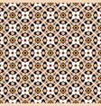 fair isle style knitted pattern swatch vector image