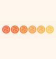 feedback concept rank level satisfaction vector image