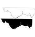 lauderdale county alabama counties in alabama vector image vector image