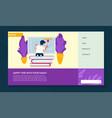 online education for kids and preschoolers vector image vector image
