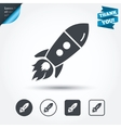Start up icon Startup business rocket sign vector image vector image